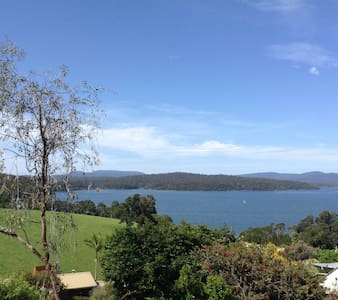Fantastic views overlooking lake - Mallacoota