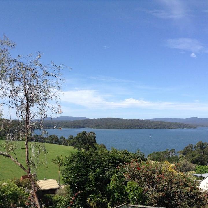 Fantastic views overlooking lake