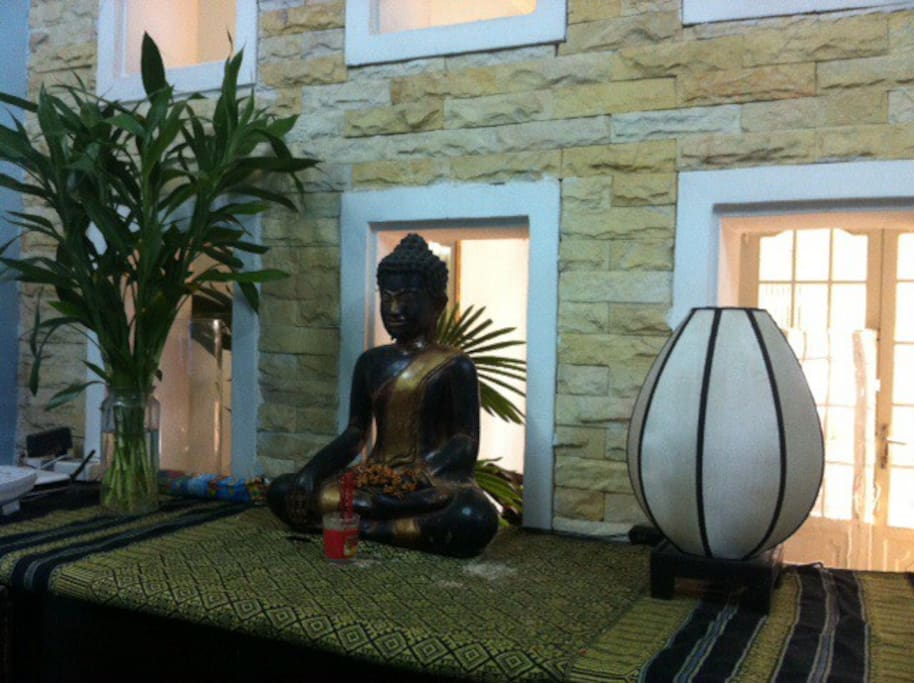 Buddha at Home !!