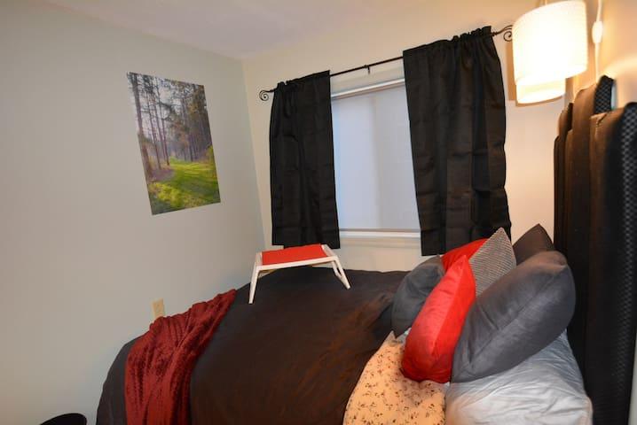 A Comfy Bed Area
