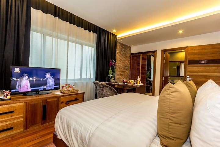 Cozy Double Room in Charming City - Krong Siem Reap - Daire