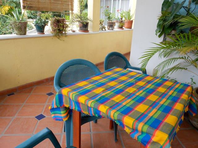 """Second floor bungalow """"El Nido"""" - La Manzanilla - Huoneisto"""