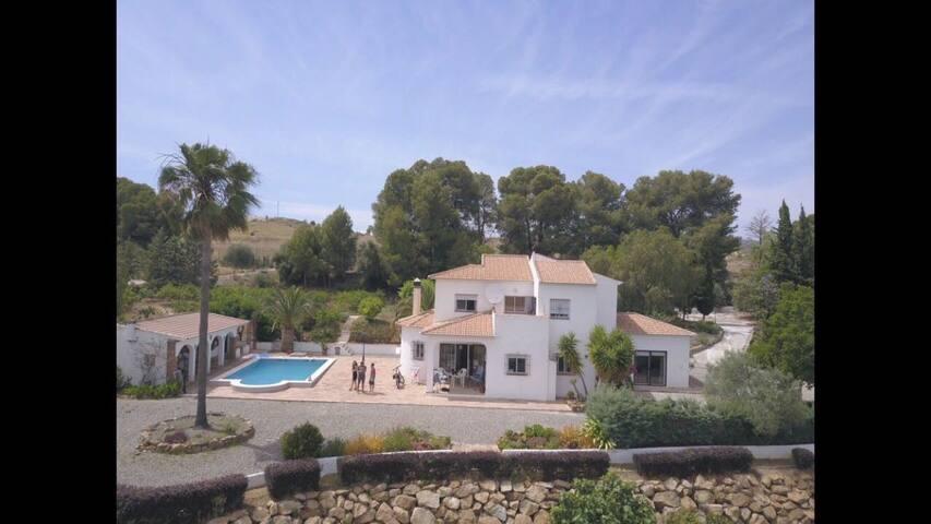 Ferienhaus Casa Colina zwischen Alora und Pizarra