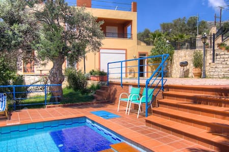 A Beautiful villa close to beaches - Plakias - Huis