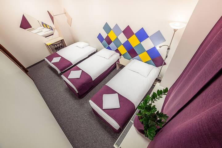Chambre pour trois dans le centre - Riga - Bed & Breakfast