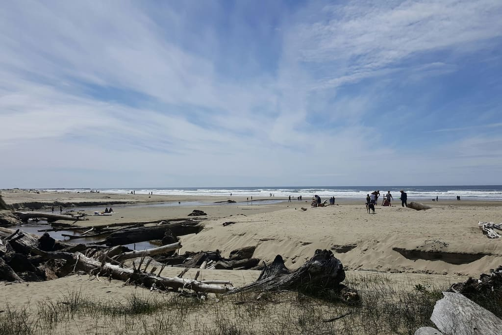 The cottage is just a few hundred feet from public access to Heceta Beach.