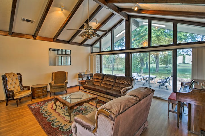 Gassville Home-3 Mi from White River&Trout Fishing