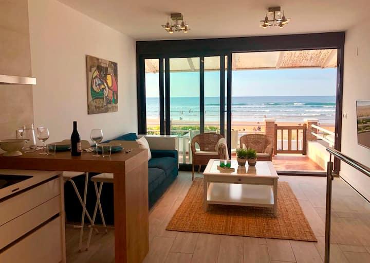 Duplex en la playa de Berria