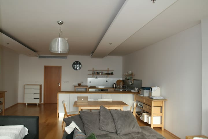 Modern studio close to city center
