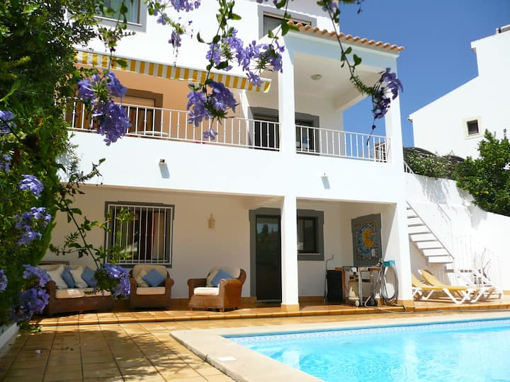 Our beautiful villa with pool