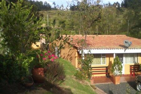 Cabaña mandarina Chiquinquirá - Chiquinquirá
