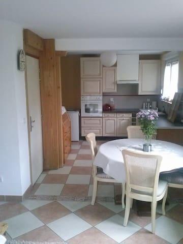 La maison jaune - Soultz-Haut-Rhin - Apartamento