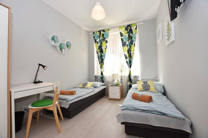 CITYCENTRAL Hostel twin/double RYNEK 1200PLN/mth