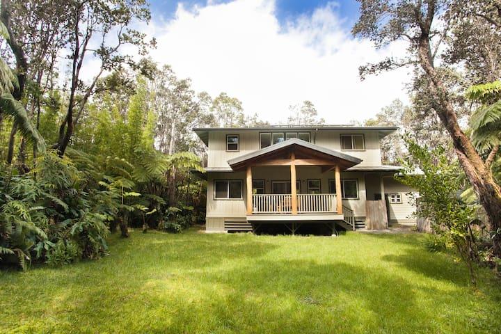 Hale Ma'ukele in beautiful Volcano - Volcano - House