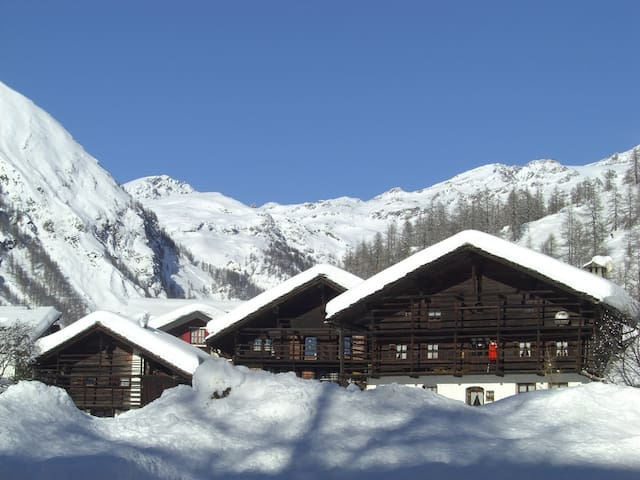 Large 3BD on the ski slopes - Gressoney-la trinite - Apartamento