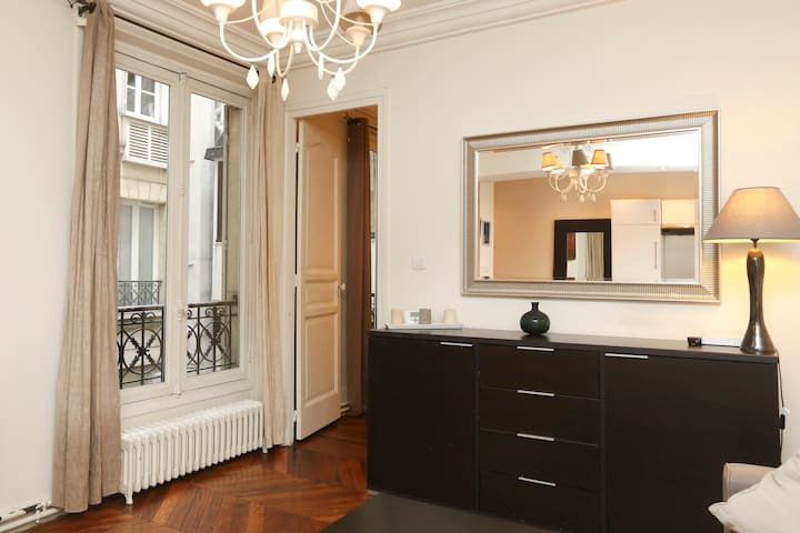 ★★★ All confort Central near Metro - Paris - Apartamento
