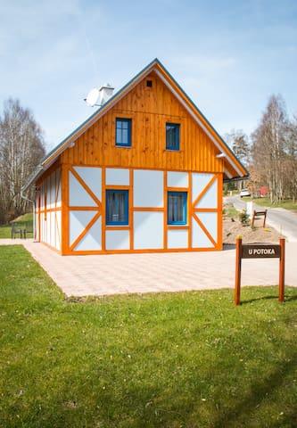 Chalupa U potoka - Jablonné v Podještědí - Casa