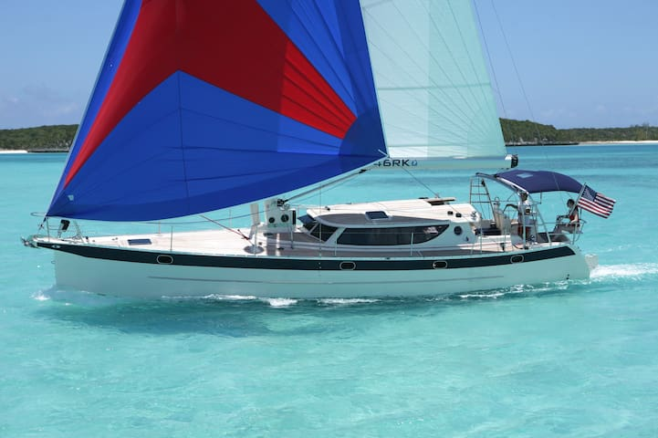 Cruise the Caribbean 48ft yacht (captain included)