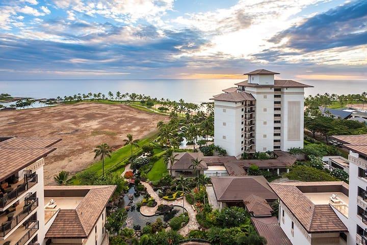 Ko Olina Beach Villa OT-1404, full 180 ocean view! - Kapolei - Villa