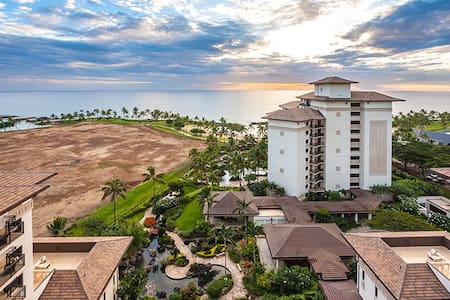 Ko Olina Beach Villa OT-1404, full 180 ocean view! - カポレイ