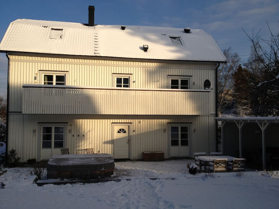 Elegant family home, 10 minutes from Stockholm
