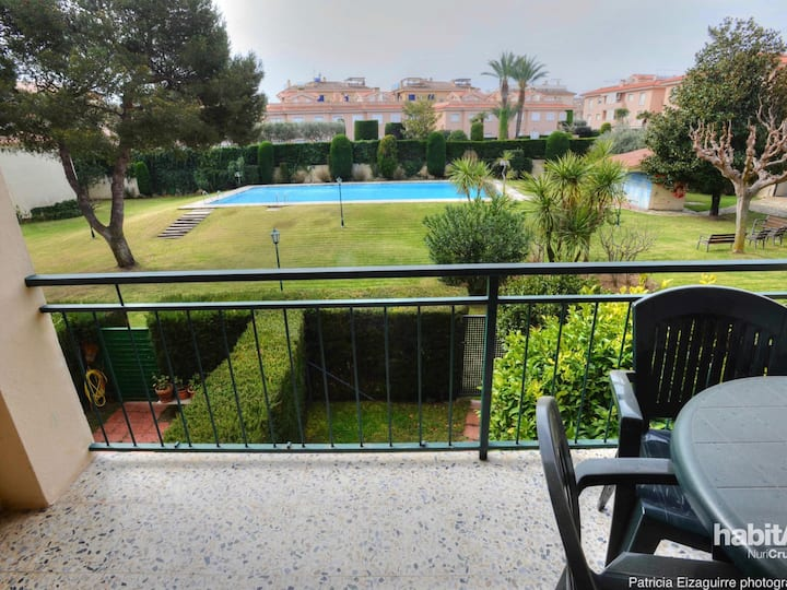 MIMOSES 1- Apartment 2/4 pax with pool E31052