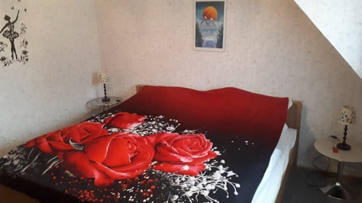 Ruhiges Zimmer