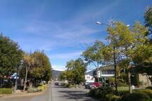 Te Anau's main street.