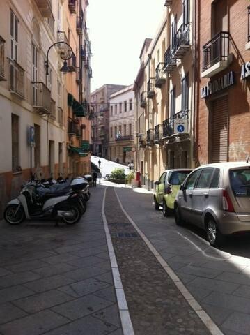 central single room - Cagliari - Appartement