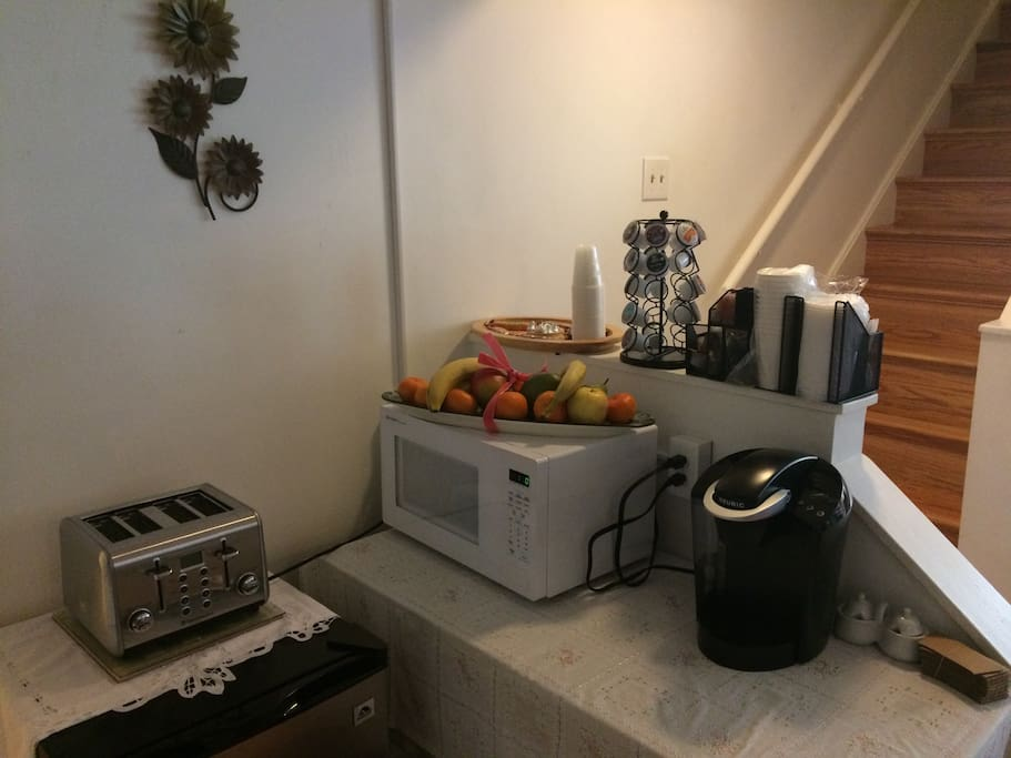 coffee & Snack station