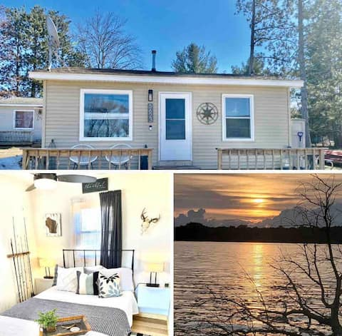 Park Lake Retreat 2BR/1BA Stunning Views/Sunsets