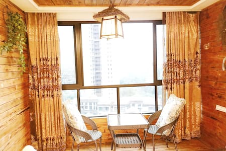 一望无际俯瞰眉州城超豪华三居酒店式公寓