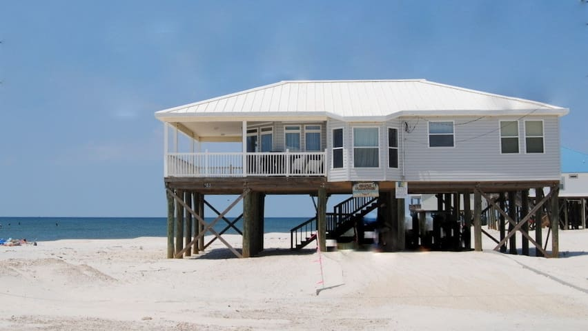 Simple Pleasures - Direct Gulf-front 3 Bedroom with Awesome views and Gulf-view Porch
