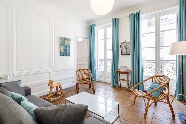 🌟TY PARADIS - Charming apartment, city center🌟