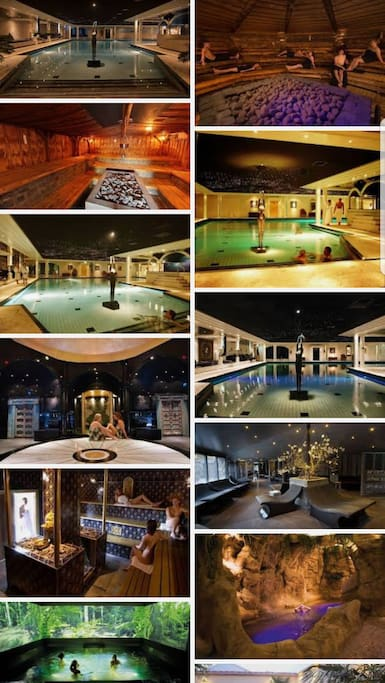 wellness resort Elysium in Bleiswijk.  There is a shuttleservice to go there.