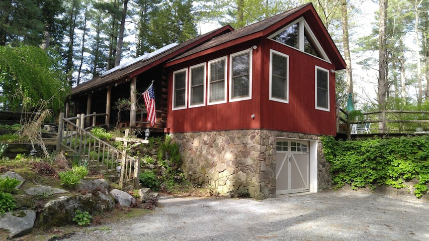 Quiet st near Great Barrington with workout room