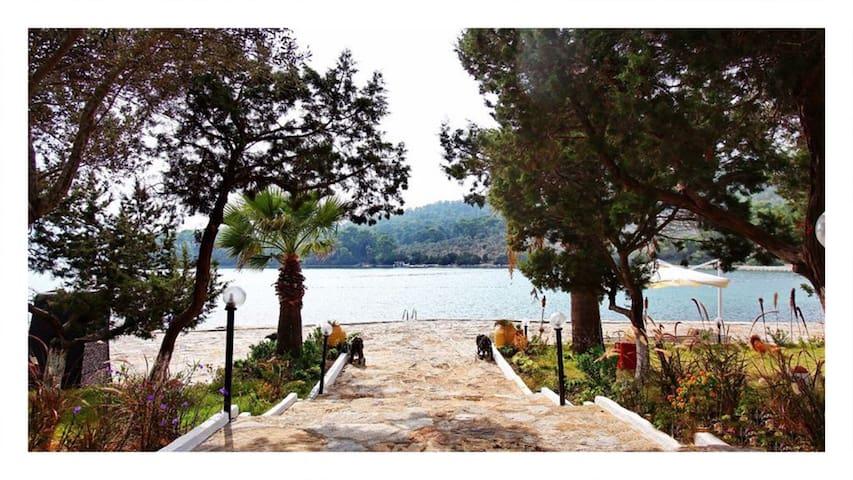 Great Manor next to sea  in Salih Island-Bodrum