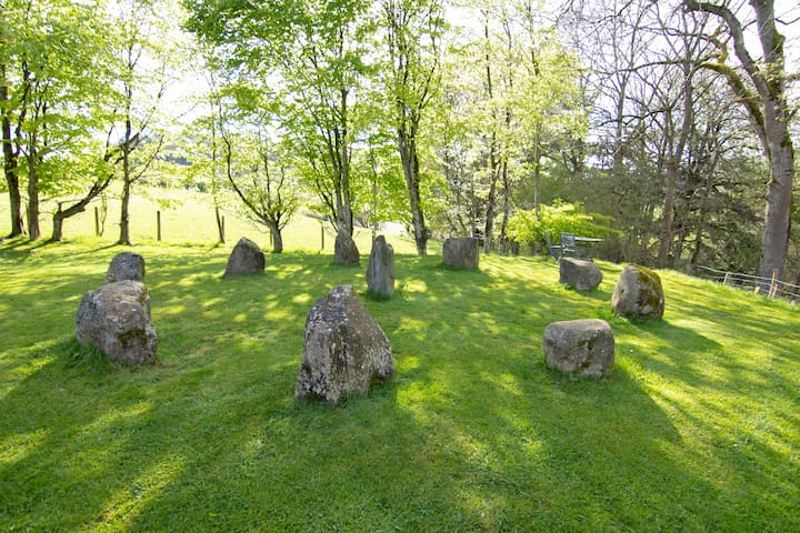 Our very own stone circle!