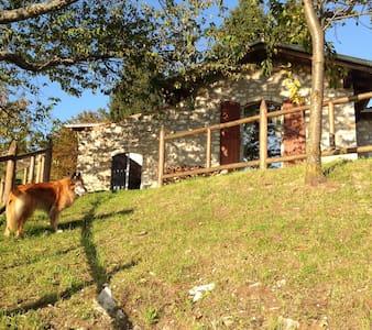 """Accogliente cascina panoramicissima """"E"""" - Grone - Bed & Breakfast"""