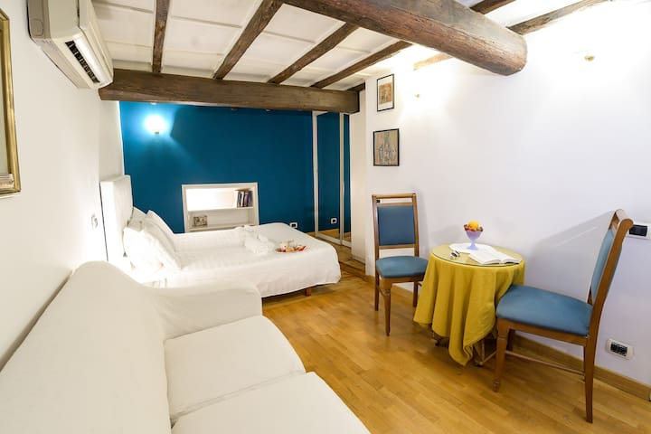 Navona apartment with internal Romantic Patio