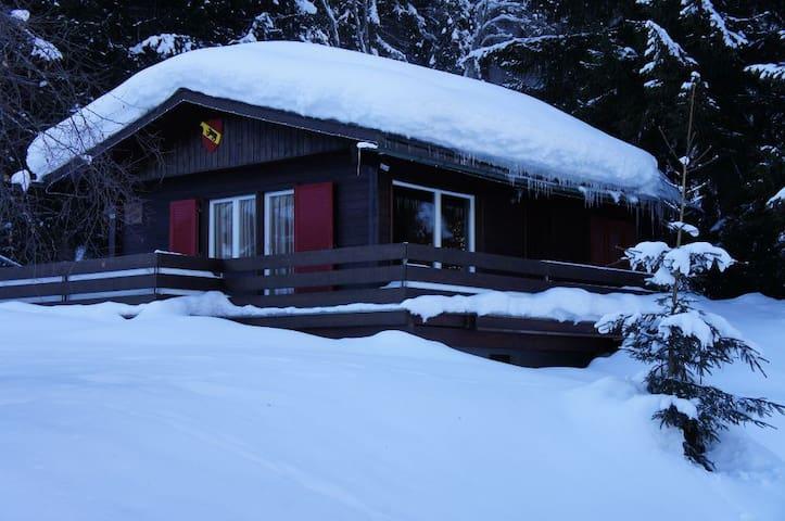 Kleines idylisches Chalet in den Bündner Bergen - Laax - Hus