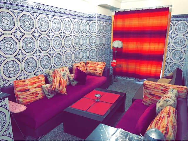 Appart plein centre 5 min de Médina - Rabat - Apartamento
