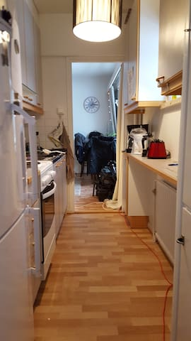 Kitchen with two side entry. Lot of space to cook.