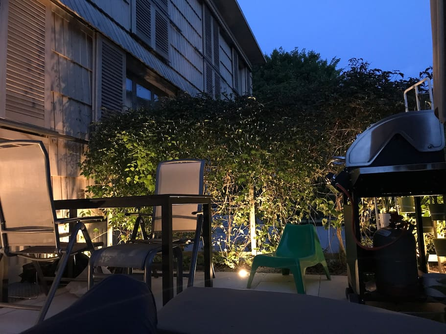 Garden with BBQ (Grill)