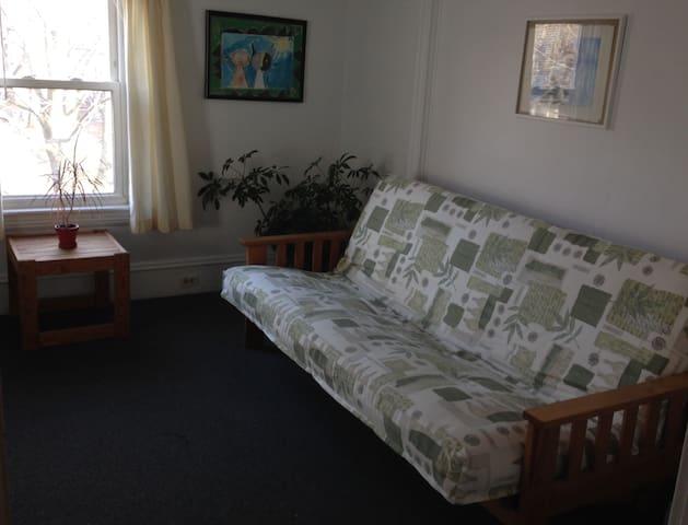 Futon couch …