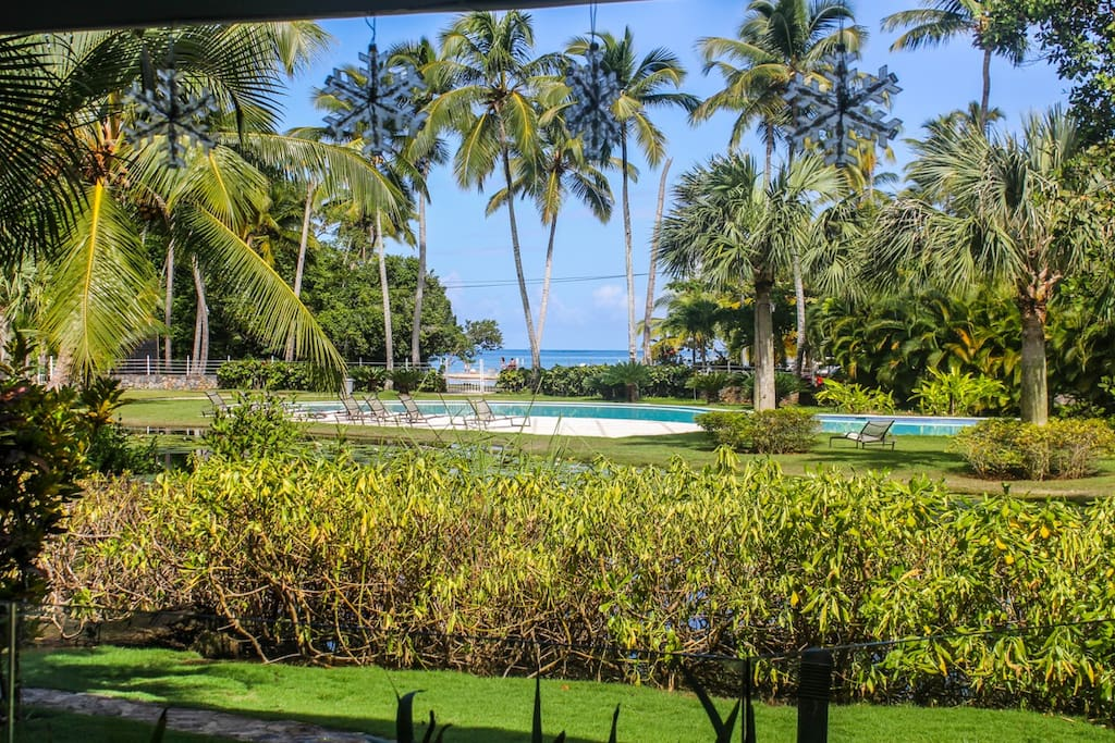 Lujoso apartamento con vista a la playa. Es tu paraiso a disfrutar!