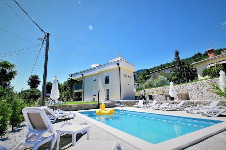 Apt2-Villa Perla with swimming pool,Lovran-Opatija