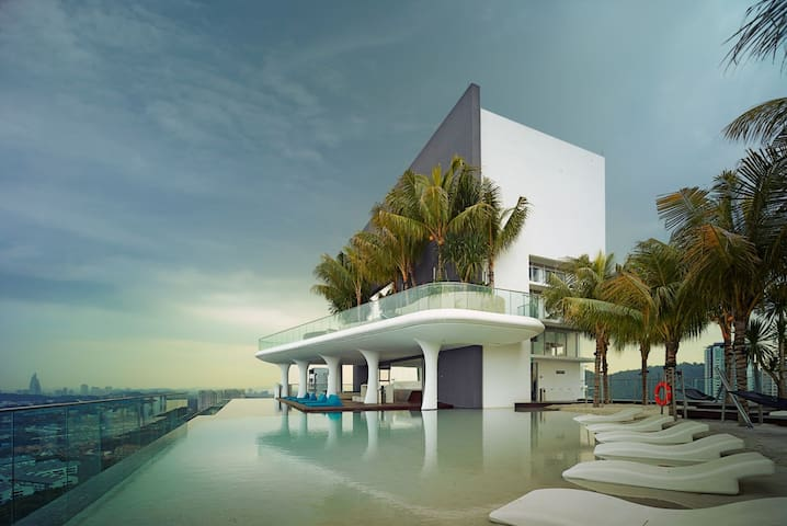 Stylish Studio Apartment with a Sky Beach at Verve Suites Mont Kiara, Kuala Lumpur - 吉隆坡 - 公寓