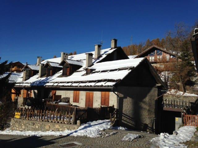 baita rustica in Champlas Seguin - Cesana torinese - Wohnung