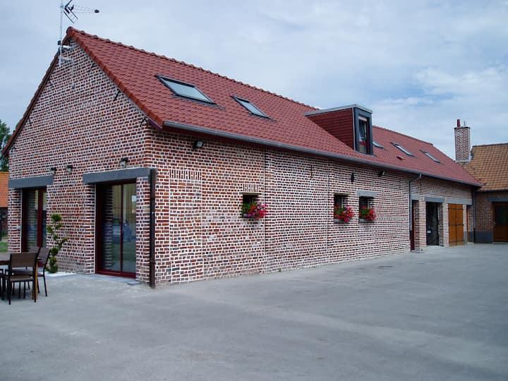 Gîte de Flandres, Holque